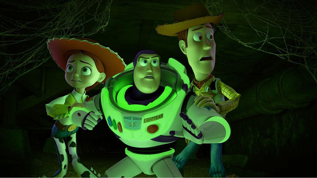 Toy Story of Terror Jessie, Buzz, and Woody