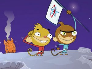 "Nickelodeon's ""Rocket Monkeys"" was created by Hornet Film's Dan Abdo and Jason Patterson."