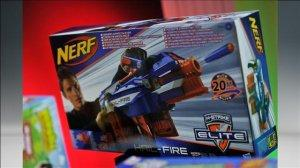 Nerf - a candidate for National Toy Hall of Fame and favorite of mothers everywhere for not knocking over their favorite lamps.