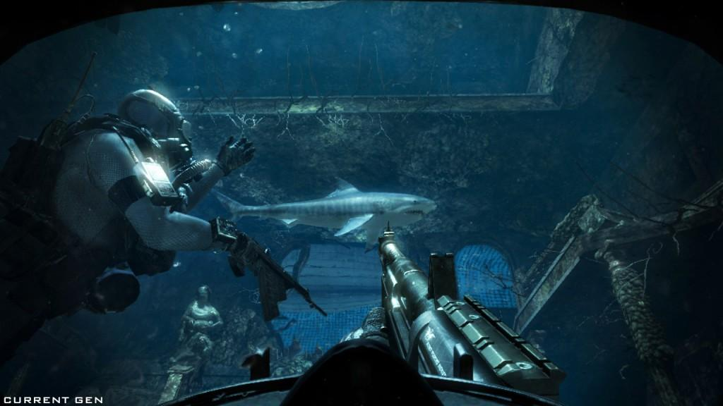 COD Ghosts_Beware of Shark Current Gen