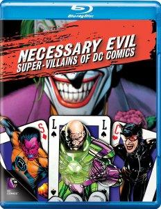 Necessary Evil Super-Villains of DC Comics Blu-ray Box Art