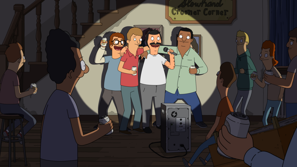 Bob is recruited to be a fill-in cook at a fraternity.