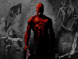 Daredevil - one of the four new Marvel characters to get their own series on Netflix.