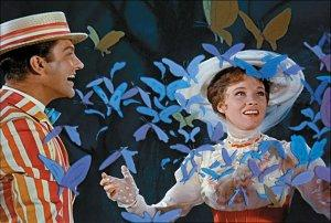 Mary Poppins Blu-ray 50th Anniversary Jolly Holiday with Bert and Mary Poppins