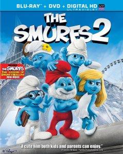 The Smurfs 2 Blu-ray Combo Pack Package Art