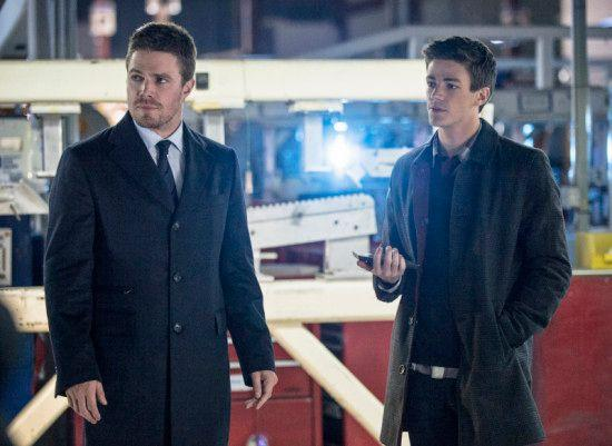 Barry Allen - aka The Flash - arrives in his guise as a Central City assistant forensic scientist.