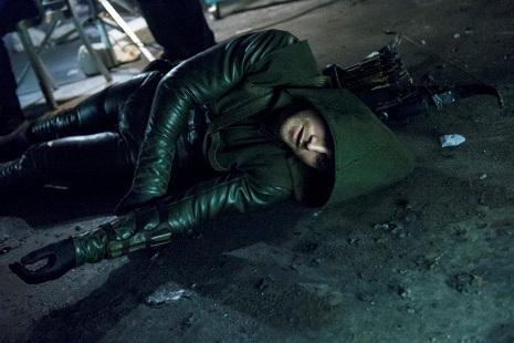 Arrow gets tossed around a few times in this episode.