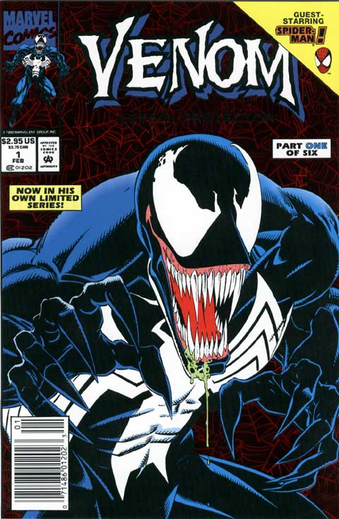 Venom is salivating in anticipation of his own movie.