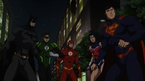 Justice League: War Batman, Green Lantern, Flash, Wonder Woman, Superman