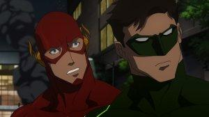 Justice League War JLWar Flash Green Lantern