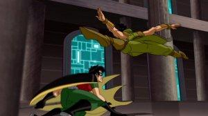 JLA Adventures Trapped in Time Robin Karate Kid