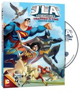 JLA Adventures Trapped in Time Cover Art