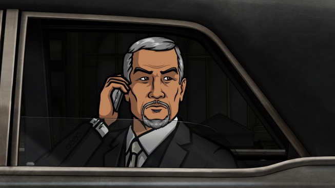 Yakuza boss, Mr. Moto, is voiced by George Takei.