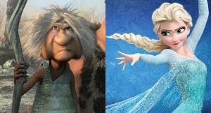 Disney DreamWorks 2014 Oscar Best Animated Feature