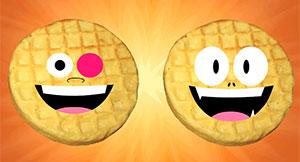 Teen Titans Go Waffles