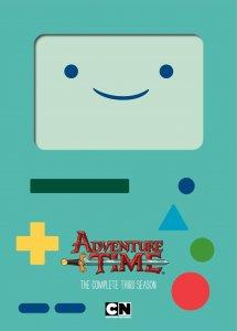 Adventure Time Season 3 Blu-ray cover