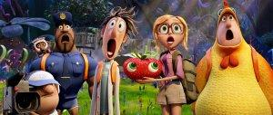 Cloudy with a Chance of Meatballs 2 Flint Lockwood Sam Sparks Manny Earl Chicken Brent Barry