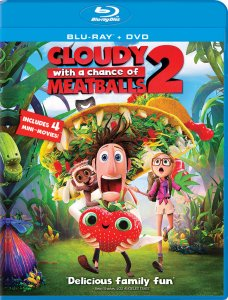 Cloudy with a Chance of Meatballs 2 Blu-ray box art