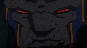 Justice League War Darkseid Smirk