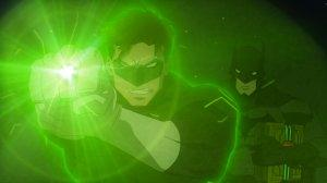 Justice League War Green Lantern Batman