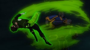 Justice League War Green Lantern Darkseid