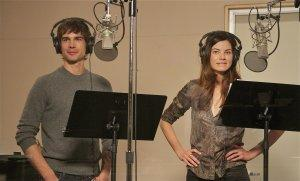 Christopher Gorham and Michelle Monahan