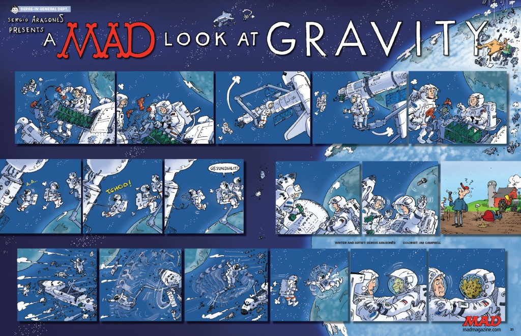 MAD Magazine Gravity Parody