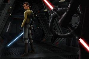 Kanan, the Cowboy Jedi of Star Wars Rebels, Meets a Nightmarish Inquisitor from the Empire