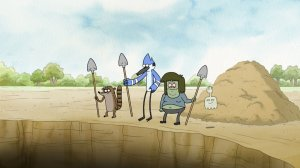 Regular Show Journey to the Bottom of the Crash Pit