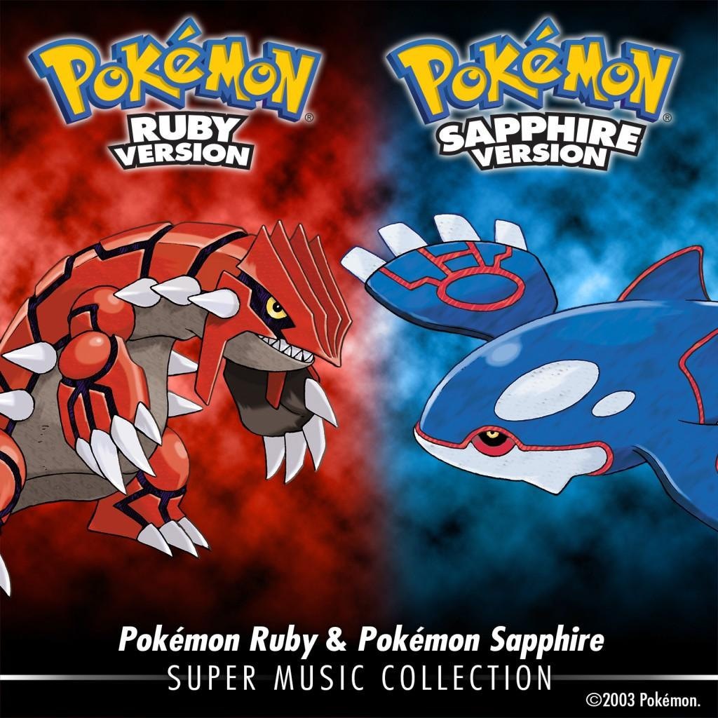 Pokémon Ruby & Pokémon Sapphire: Super Music Collection Out Now
