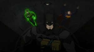 Justice League War Green Lantern Batman Superman