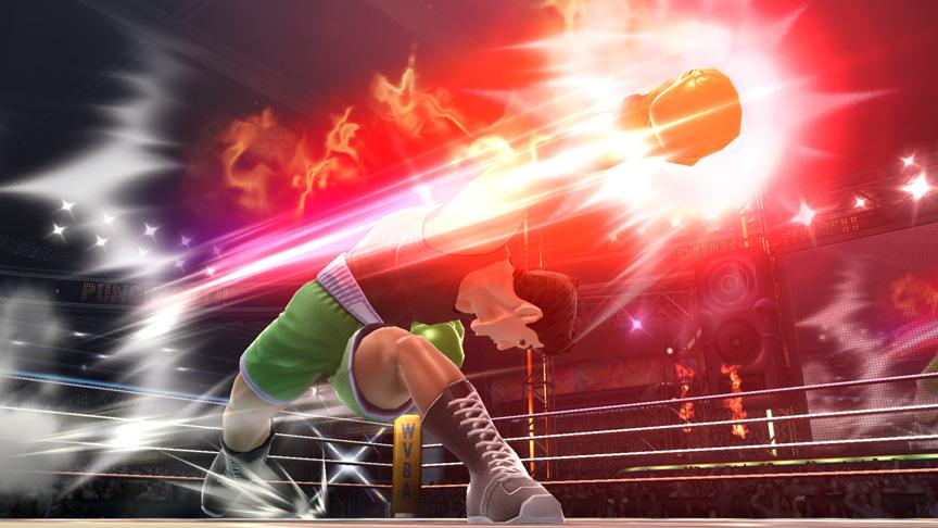 Little Mac in Super Smash Bros.