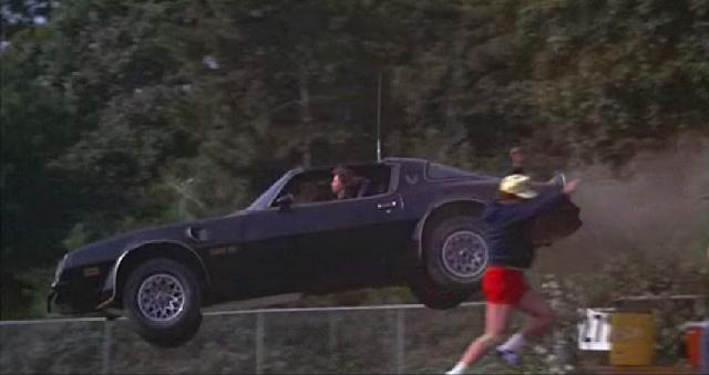 The real Pontiac Firebird Trans-Am from Smokey and the Bandit.
