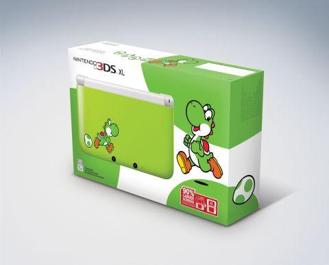 Special Yoshi 3DS XL