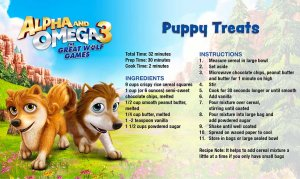 Alpha and Omega 3 Recipe Card NOT FOR DOGS