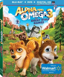 Alpha and Omega 3: The Great Wolf Games Blu-ray