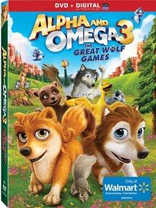 Alpha and Omega 3: The Great Wolf Games DVD