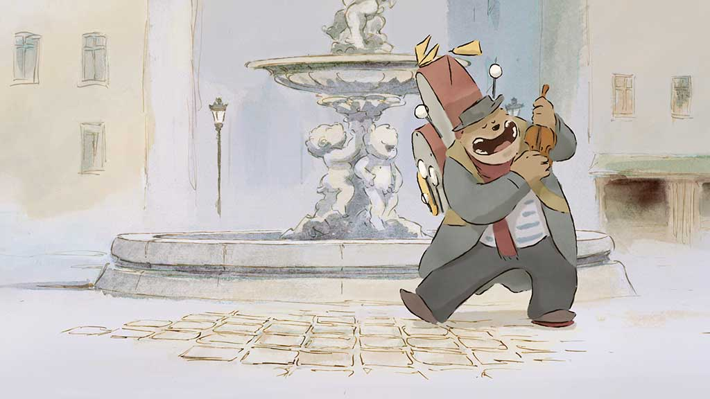 Ernest And Celestine Movie Poster