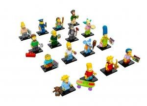 Simpsons Lego Mini-figures
