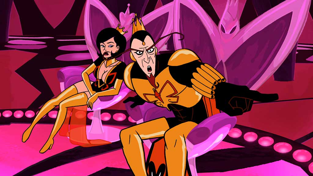 Venture Bros Season 5 Monarch and Dr. Mrs. the Monarch