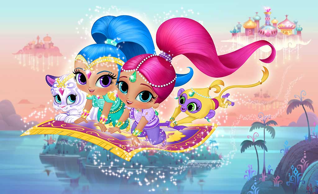 Shimmer and Shine Nickelodeon Nick Jr. Upfront 2014