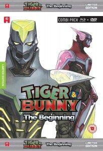 Tiger & Bunny: The Beginning Cover