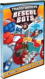 Transformers Rescue Bots Heroes on the Scene DVD Art
