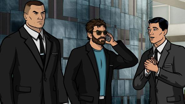 Archer attempts to get tickets from Kenny Loggins only to get tased for his trouble.