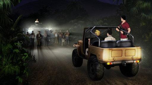 The Toyota Land Cruiser betrays the boys.