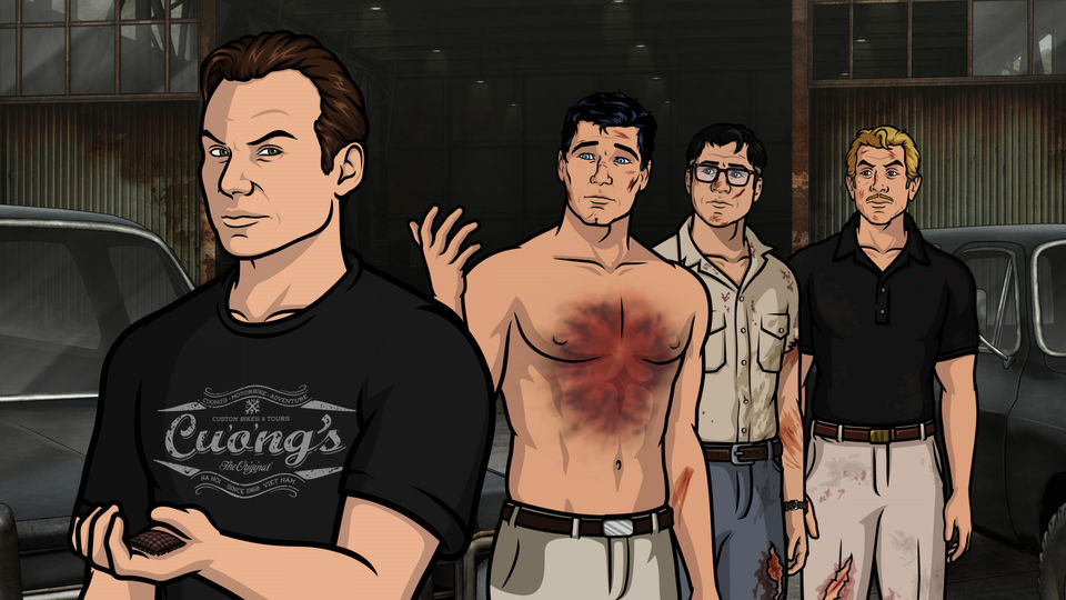 Christian Slater makes a voice acting appearance as, who else, Slater.