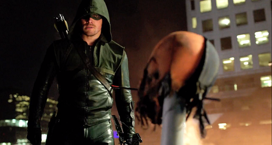 Arrow tries to figure out what to do about this annoying Slade dude stalking him.