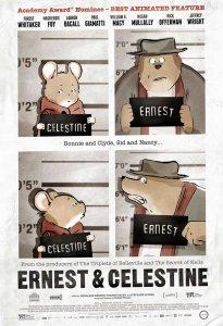 Ernest and Celestine US Release Movie Poster