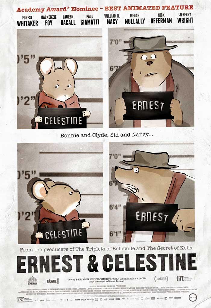 Ernest and celestine movie poster