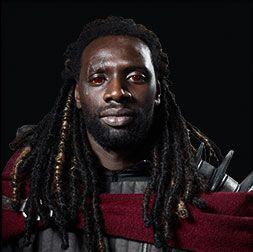 "Omar Sy as Bishop in the upcoming ""X-Men: Days of Future Past"" film."